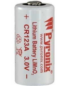 PYRONIX CR123A 3V LITHIUM BATTERY
