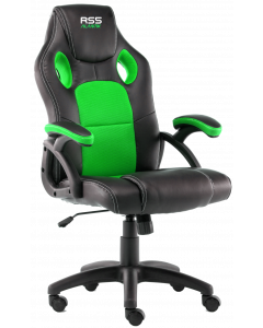 ALANTIK GAMING CHAIR GREEN & BLACK