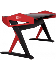 CTESPORTS WARLAB GAMING TABLE - RED/BLACK