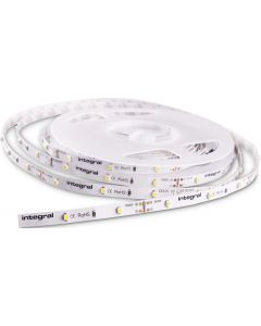 FLEXIBLE LED STRIP - 12V - 6WATT PER METER - WARM WHITE