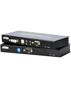 ATEN USB DVI KVM EXTENDER WITH AUDIO AND RS232 - 60M