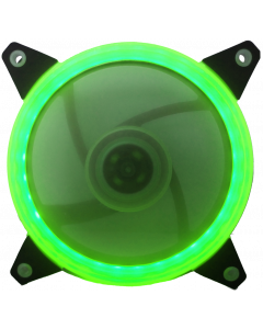 CTESPORTS GRAVITON CASE FAN WITH GREEN LIGHT RING - 12CM