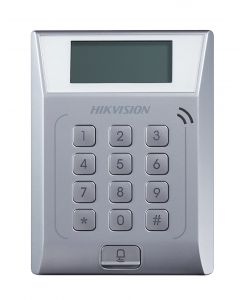 ACCESS CONTROL TERMINAL WITH LCD DISPLAY SCREEN