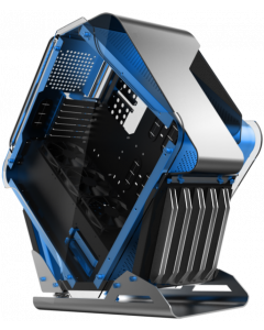 CTESPORTS GALAXY GAMING PC CASE - BLUE