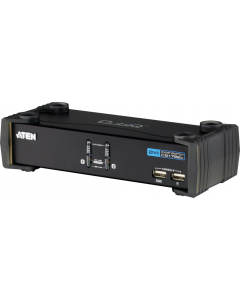 ATEN 2-PORT USB KVMP SUPPORT DVI DISPLAY - 4 IN ONE