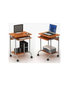 TECHLY BEECH COMPACT PC DESK
