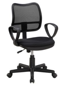 AIR OFFICE CHAIR BLACK