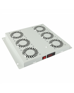 LOGON 6 FANS, DIGITAL THERMOSTAT CONTROLLED FAN MODULE WHITE