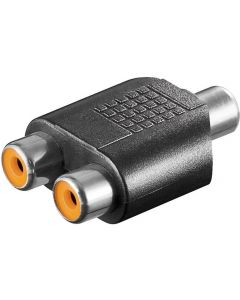 RCA JACK TO 2x RCA JACK AUDIO ADAPTER