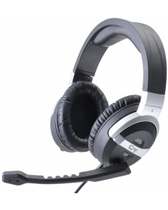 CTESPORTS MANTRA GAMING HEADSET - BLACK & SILVER