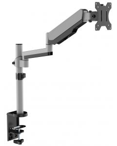 "TECHLY DESK MOUNT FOR MONITOR 17-32"", SILVER"