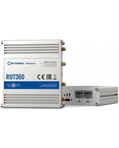 TELTONIKA RUT360 INDUSTRIAL 4G LTE CAT6 ROUTER WITH WIFI