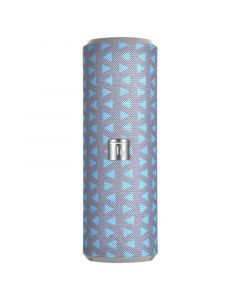 TECHLY BLUETOOTH SPEAKER TUBE GREY/BLUE