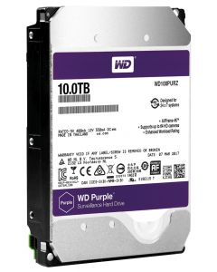 WESTERN DIGITAL HARDDISK SATA 10TB PURPLE