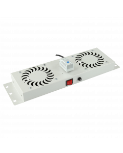 LOGON 2 FANS, ANALOG THERMOSTAT CONTROL FAN MODULE BUILT-IN