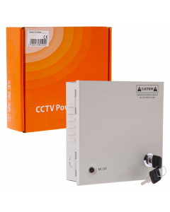CCTV SYSTEM POWER SUPPLY 4-CHANNEL - TOTAL 5A