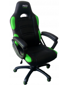 ALANTIK RS3 GAMING CHAIR GREEN/BLACK