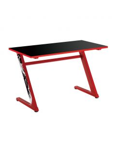 WHITE SHARK GAMING DESK DESK FRAME RED