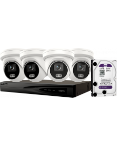 HIKVISION COMBO PACK2: 4x2347G2L28+7608NIK18P+CCTP055