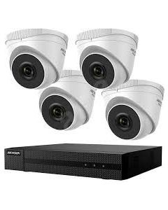 HIKVISION HIWATCH KIT 1xNVR + 4x TURRET CAMERA