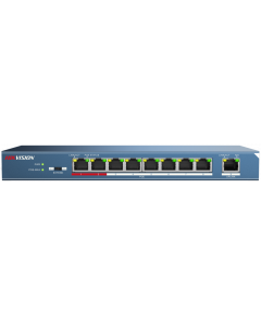 HIKVISION 8-PORT 10/100 TP POE + 1-PORT 100M TP ETHERNET SWITCH