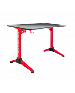 WHITE SHARK GAMING DESK FIRE SHADOW WITH RGB LIGHTS