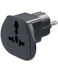 TRAVEL ADAPTOR TO FRENCH/BELGIAN/SCHUKO