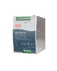 PLANET 48V, 480W DIN-RAIL POWER SUPPLY DR-240-48