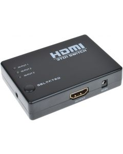 BUDGETS 3x1 1080P HDMI SWITCH WITH IR REMOTE CONTROL