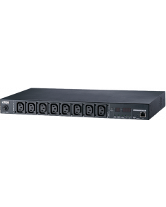 ATEN 8-PORT INTELLIGENT 1U ECO POWER DISTRIBUTION UNIT