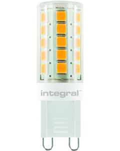 G9 LED SPOT WHITE HOUSING DIMMABLE 3W(30W) 4000K