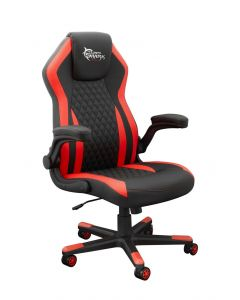 WHITE SHARK GAMING CHAIR DERVISH BLACK/RED