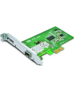 PLANET PCI EXPRESS GIGABIT FIBER OPTIC ETHERNET ADAPTER SFP