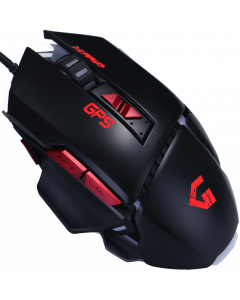 GAMMEC GP5 GAMING MOUSE WITH 8 BUTTONS RED