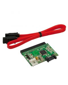 LOGILINK CONVERTER SATA TO IDE INCL. SATA CABLE & POWER CAB
