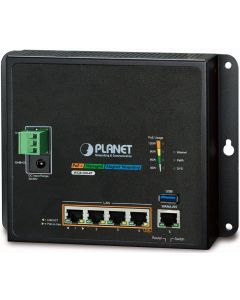 PLANET 4-PORT GIGABIT POE+ INDUSTRIAL POE ROUTER