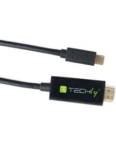 TECHLY ADAPTER USB-C TO HDMI 2.0 4K