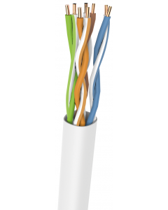 DRAKA U/UTP PVC CAT5e GREY 24AWG 305M FULL COPPER