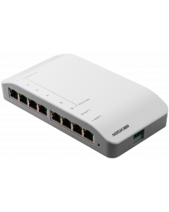 HIKVISION 6+2 100MBPS INTERFACE FOR VIDEO WITH POWER SUPPLY