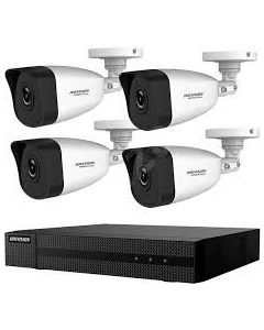 HIKVISION HIWATCH KIT 1xNVR + 4x BULLET CAMERA