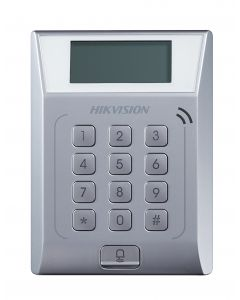 HIKVISION STAND ALONE ACCESS CONTROL WITH LCD DISPLAY SCREEN