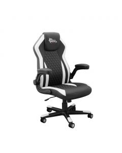 WHITE SHARK GAMING CHAIR DERVISH BLACK/WHITE