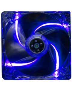 ALANTIK TRANSPARENT CASE FAN WITH BLUE LIGHT - 12CM
