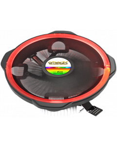 GAMMEC MISTRAL CPU COOLER FOR INTEL & AMD - RED
