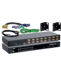 ATEN 16-PORT USB/PS2 KVM COMBO CONSOLE 2048x1536